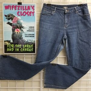 J. Jill Size 8 Stretch Denim Jeans